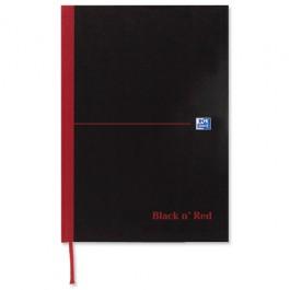 Black N Red Book A6 96Lf Feint 100080429