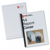 Rexel Report Cover 80/RC/A4 12355 Pk5