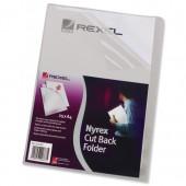 &Rexel Nyrex Fldr Clr PGF/149 12141Pk25