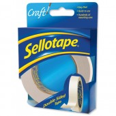 Sellotape Dble Sided 50mmx33M  1447054