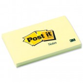 3M Post-It Note Yellow 3x5  655YE