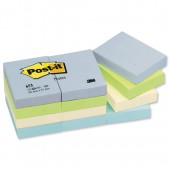 Post-it Cool Pastel Nts Ast Pk12 653ML