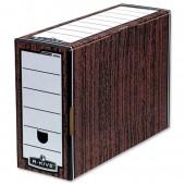 R-Kive Bnkr Box Flptop File Woodgrn 53