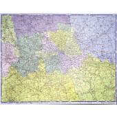 Map Marketing London Postal Map GLPC