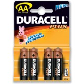 Duracell Plus Power Battery Size AA Pk4