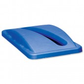 Rubbermaid Slim Jim Paper Lid2703-88-BLU
