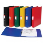 Esselte 2 Ring Binder A4 Yellow 50019