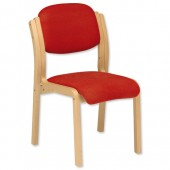 3*TrexusWd SideChair Pyra PY01 Red