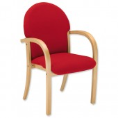3*TrexusWd VisArmChair Pyra PY01 Red