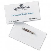 &Durable Universal NameBadge 8001 Pk100