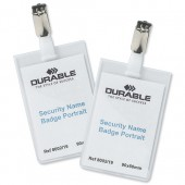Durable Security NameBadge Pk25 8002