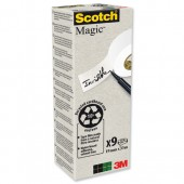 Scotch Magic Tape 900 Pk9 19x33 90019339