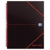 Black N Red Meeting Bk A5Pls 100100893