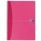&Oxford Off Nbk PP A4 Pink 100104008