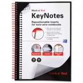 &Blk N Red Keynte Dvdr A4 Pk20 100100205