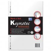 &Blk N Red Keynte Dvdr A5 Pk20 100105384