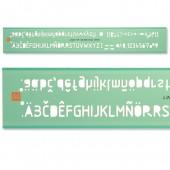&Linex Tech Ltrg Stencil 2.5Mm Lxg7225