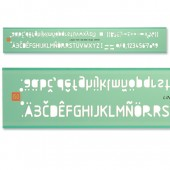 &Linex Tech Ltrg Stencil 5Mm Lxg7250/5Mm