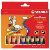 &Stabilo Woody 3-1 ColgPcil Ast10 880/10