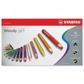 &Stabilo 3-1 Colg Pcil Ast18 Uk/880/18