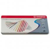 &Stabilo Aquacol Wcol Pcil Ast12 1612-5
