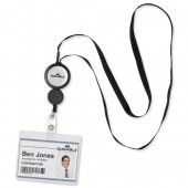 Durable Badge Reel Plus Blk Pk10 8229/01
