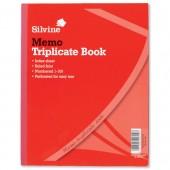 Silvine Trip Memo Bk 1-100 10x8