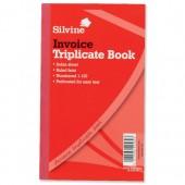 Silvine Trp Invoice Bk 1-100 8X5 619