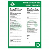 &Office Recycling Poster env10