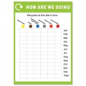 &Recycle Chart Poster env12