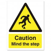 Caution Mind The Step WO131SAV