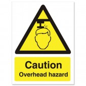 Caution Overhead Hazzard WO132SAV