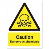Caution Dangerous Chemicals WO142SAV