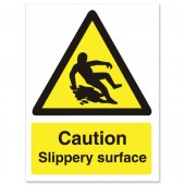 Caution Slippery Surface WO134SAV
