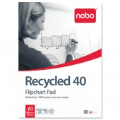 Nobo Re-Cycled Flip Cht Pad A1 346 31178