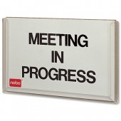 &Nobo Meeting Indicator White 355 31508