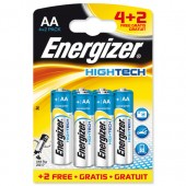 Energizer HighTech AA Pk4 Plus2 Oct3/11