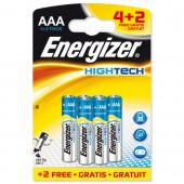 Energizer HighTech AAA Pk4 Plus2 Oct3/11