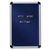&Nobo Welcome LtrBrd 60x90 Blu 1901928