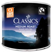 Cafe direct coffee tins 500g A02900