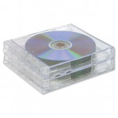Cmpcssry Stackable CD Cases Large Pk3