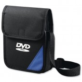 &Cmpcssry DVD StorageBag Blu/Blk&15 Slvs