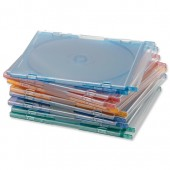 Cmpcssry Slim CD Cases Ass Pk100 95509