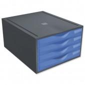 Exacompta Polymorf DrawerSet Blue200210D