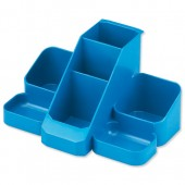 Avery Basics Desk Tidy Blue 1137BLUE