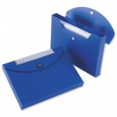 Rexel Optima Doc Wallet Blu Pk3 2102480