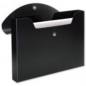 Rexel Optima Job Box 40mm Blk 2102481