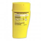 **W/C Sharps Bin Yellow 0.6Ltr 4402001
