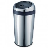 Addis Press Top Ssteel 40ltr Bin 507634