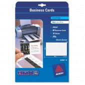 Avery Business Cards Inkjet C32096-10